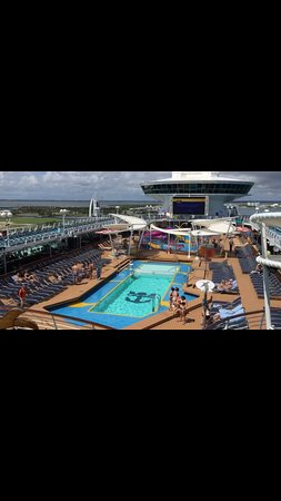 Port Canaveral: View of the deck