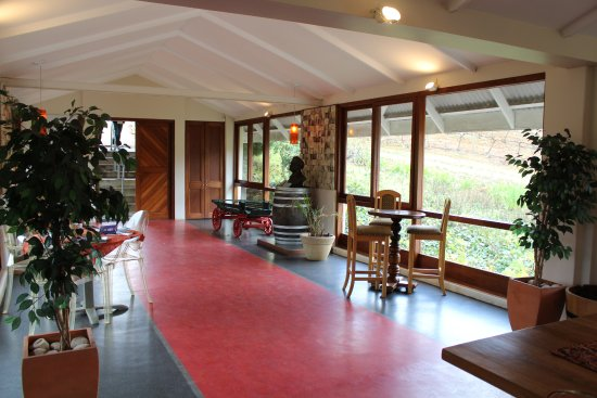 Franschhoek, Afrika Selatan: ...love-lii and clean dinning area
