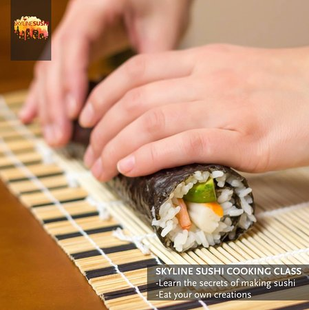 Skyline Sushi Cooking Class