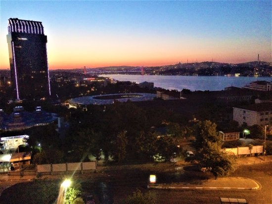 Gezi Hotel Bosphorus: The morning view of the Bosporus