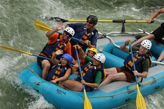Family Whitewater Rafting on the Clark Fork River near Missoula Montana