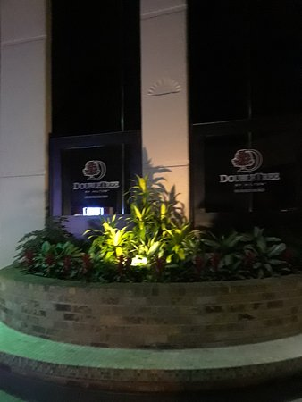 DoubleTree by Hilton Murfreesboro: Lobby garden