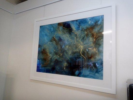 Cardiff, Australia: Art by local Artist Tamika Stuart