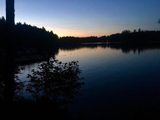 Poland, ME: Sunset