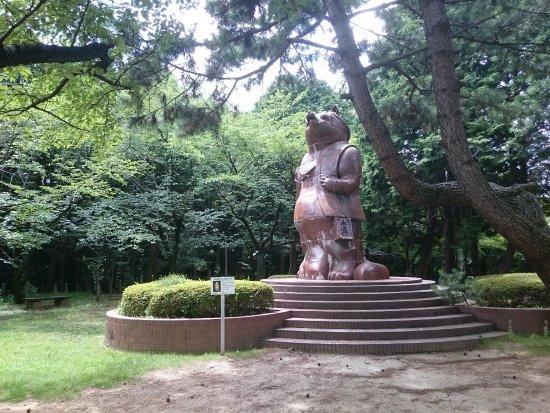 Statue of Big Raccoon Dog
