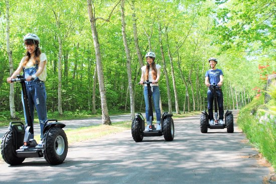 Segway Guided Tours in Hakodate-Onuma