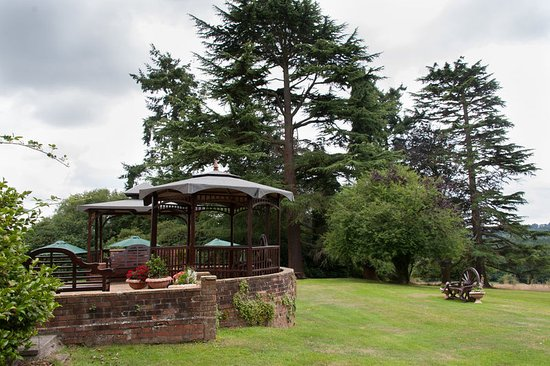 Balcombe, UK: Patio