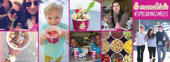 League City, TX: Menchies froyo