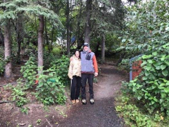 Glacier View, AK: Trails at Alpenglow