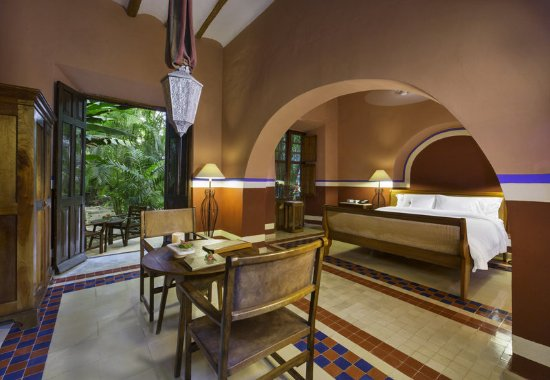 Hacienda San Jose, a Luxury Collection Hotel: Relax in our hotel's spacious and beautiful Patron´s Room