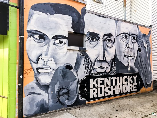 ‪Kentucky Rushmore Mural‬