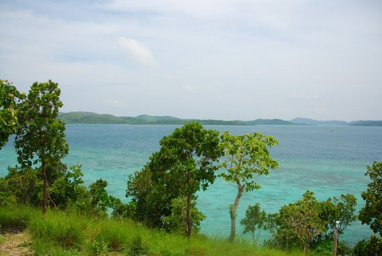 Busuanga Island, Filipinas: View from the view deck