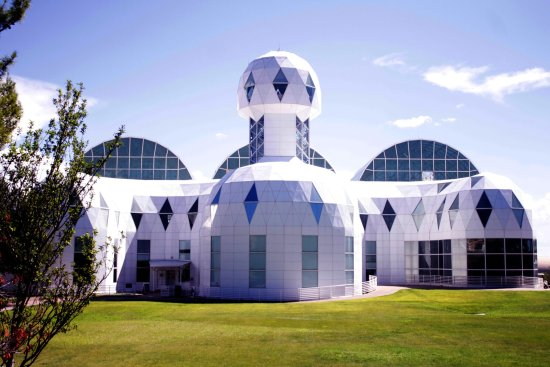 Biosphere 2: outside view