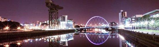 هيلتون جاردن إن جلاسجو سيتي سنتر: Glasgow at Night