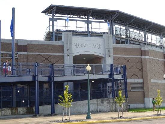 Harbor Park: Great baseball venue