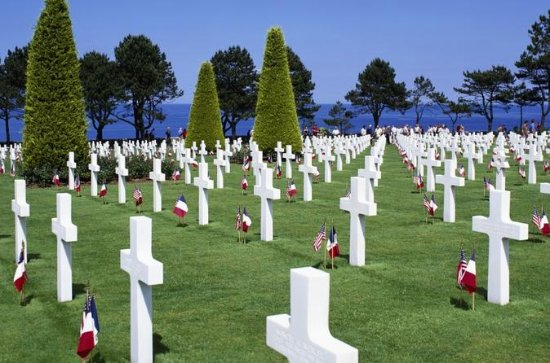 American D-Day Beaches Tour from Paris