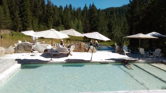 Gold Fork Hot Springs: sand pool