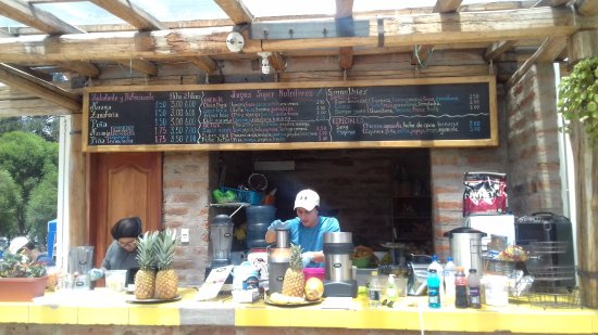 "Urban Adventures Quito: ""The place in La Carolina Park... Must try the delicious and nutritious organic juices"