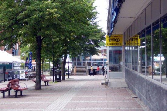 Ludvika, İsveç: Diskret entré från gatan