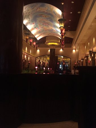 The Cheesecake Factory: One of the dining rooms