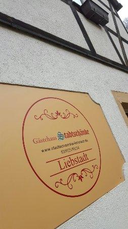 Liebstadt, เยอรมนี: Gästehaus Stadtschaenke
