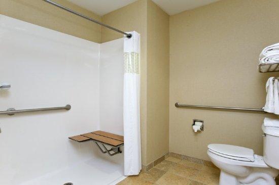 Inwood, WV: ADA Shower - Bathroom