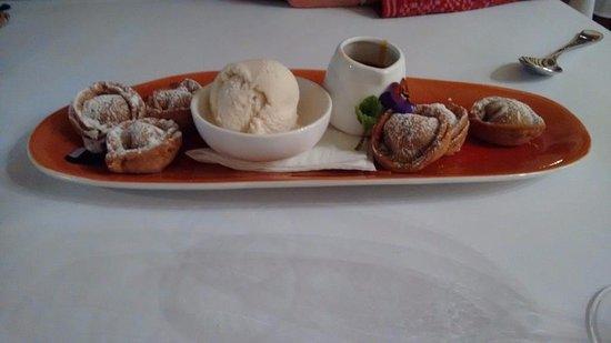 Il Cacciatore Restaurant: Cinnamon tortellini