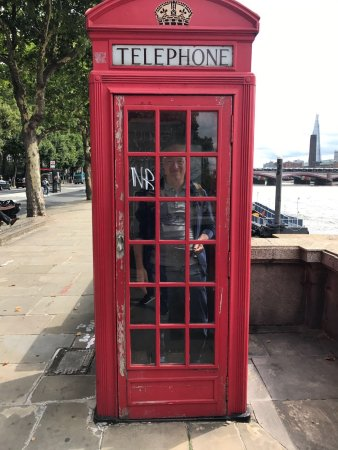 cabina telefonica - picture of thames river, london - tripadvisor - Cabina Telefonica