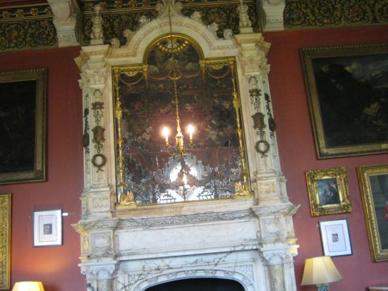 Mount Stuart: just one of the fire places so beautiful
