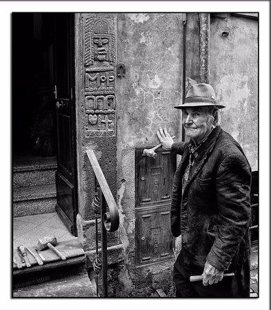 Tuscania, Italië: Pietro Moschini , ritratto realizzato nel 2010 dal fotografo P.Paccagnella (www.ph-p-photography