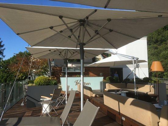 Villa Elben: Dachterrasse