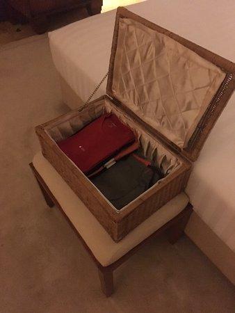 The Dharmawangsa Jakarta: Laundry. Folded; boxed