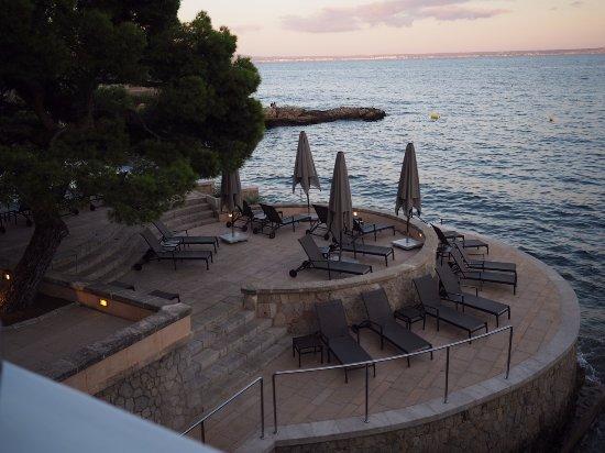 Cas Catala, Spain: 식당에서 뷰