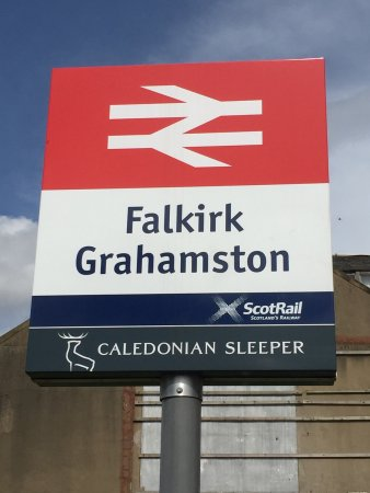 Falkirk Grahamston Train Station: It's a sign