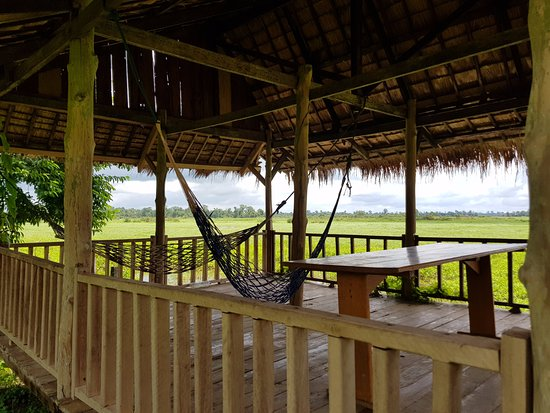 Ban Khiet Ngong, Laos: Sala for relaxing