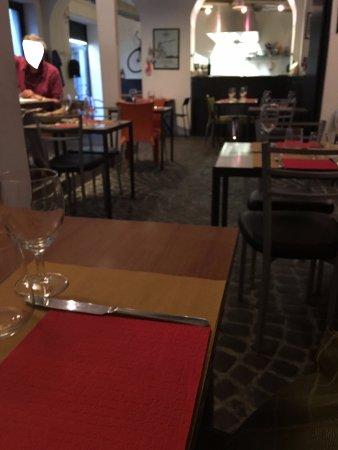 Scorcio della sala con cucina a vista - Picture of Il Chiosco dello ...