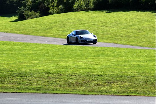 On The Track Picture Of Porsche Experience Centre