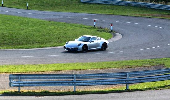 Cornering Picture Of Porsche Experience Centre