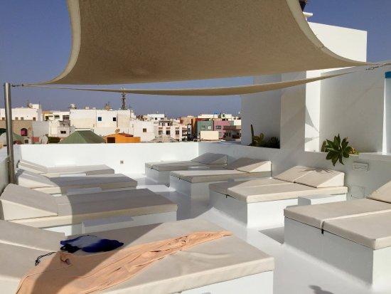 Jacuzzi azotea del hotel bild von avanti hotel - Fuerteventura boutique hotel ...