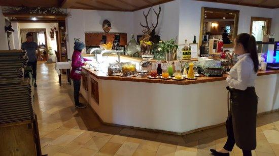 Hotel zum Hirschen: Petit déjeuner parfait et service impeccable