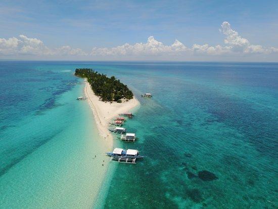 Kalanggaman Island: Dron mavic pro