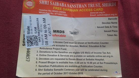 Shri Saibaba Sansthan Temple: 20170825_162723_large.jpg