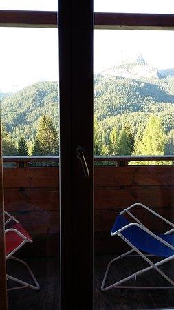 Hotel Piccolo Pocol: Stanza con balcone vista Dolomiti