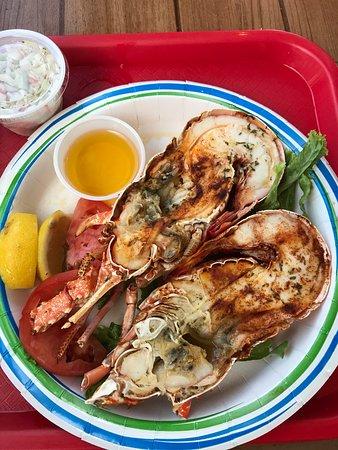Key Largo Fisheries Backyard: Lobster spezial 👌