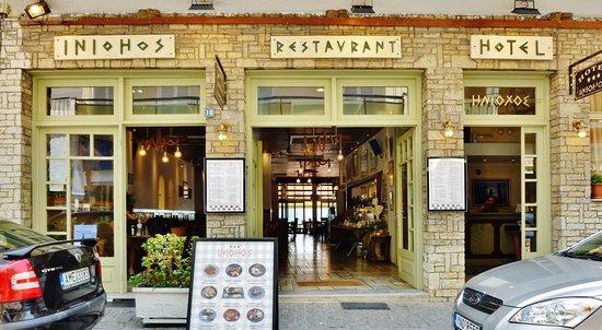 Iniohos Restaurant: Είσοδος Εστιατορίου