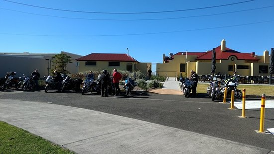 Thirroul, ออสเตรเลีย: a great stop after a great ride.