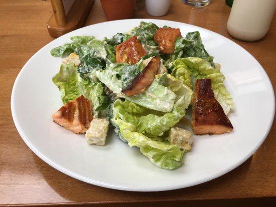 Laurencekirk, UK: Sehr feiner Salat / Milchshake