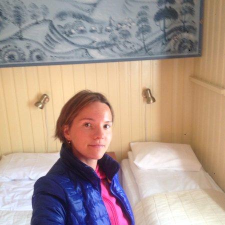 Øystre Slidre, Norge: Даже есть навесная кровать)
