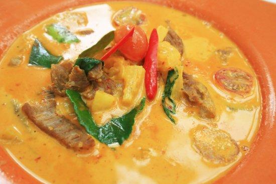 แกงควสบปะรดหม Slow Roasted Dry Curry Of Pork Neek And