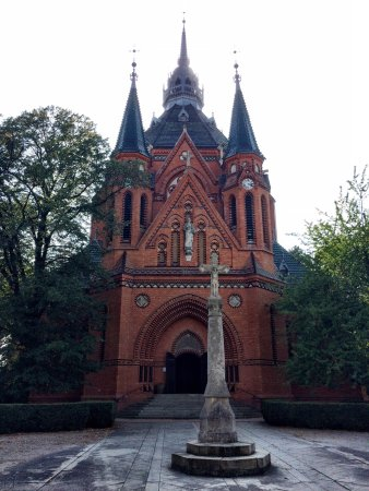 Breclav, Czech Republic: Church of the visitation of the Virgin Mary